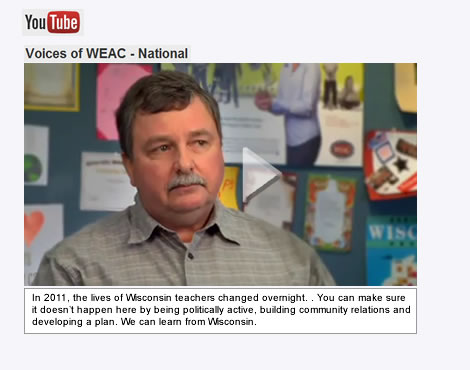 WEAC Voices on YouTube